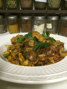 Italian-Indian Chicken Stew